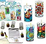 #7: ToyKraft Glass Painting Candle Making