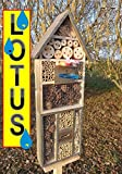 Black Insect Hotel with Trough SDV Holo OS And...