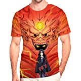 Unisexe tee Shirt Marque Vetement Manga Japonais Naruto Top d'été Top Mode de Dessin 3D Pattern t-Shirt Homme à Manches Court