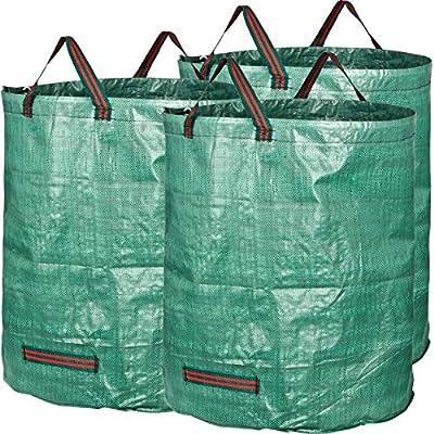 GardenMate Gartensack 272l aus robustem Polypropylen-Gewebe (PP) 150gsm