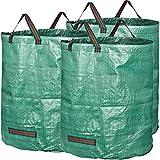 I vantaggi in concreto: Si tratta di uno degli utensili più utili per il tuo giardino! Il bordo superiore della borsa da giardino è rinforzato con un anello di plastica. La borsa resta aperta e, se necessario, può essere riempito con una mano...