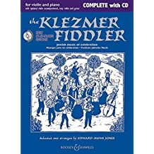 The Klezmer Fiddler (Neuausgabe): Jewish music of celebration. Violine (2 Violinen) und Klavier, Gitarre ad lib.. Ausgabe mit CD. (Fiddler Collection)