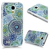 Samsung Galaxy S4 Mini I9190 PC Hartes Case Lanveni® Hardcase Handyschale Schutzhülle Handycover Tasche Etui_Muster:Blume
