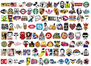 100 pcs Mixed Stickers for Luggage Laptop Decal Toys Bike Car Motorcycle Phone Snowboard Funny Doodle Cool DIY