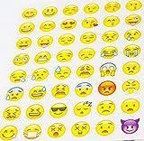 MissBirdler Emoji Sticker Set 10 Seiten 48 Ve...Vergleich