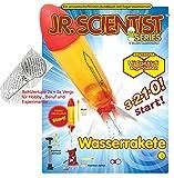 Wasserrakete Water Rocket Bausatz mit Lehrbuch in deutscher und englischer Sprache und Technikerhandlupe 2+5fache Vergrößerung