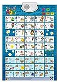 Audio-Plakat Sprechendes ABC Englisch / Lernspielplakat / Game Poster