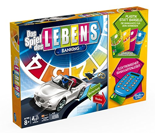 Preisvergleich Produktbild Hasbro A6769100 - Spiel des Lebens Banking, Familien-Brettspiel, deutsche Version