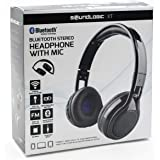 Soundlogic Amerisound Bluetooth Wireless Foldable Stereo Headphone W/Mic,FM,SD Card