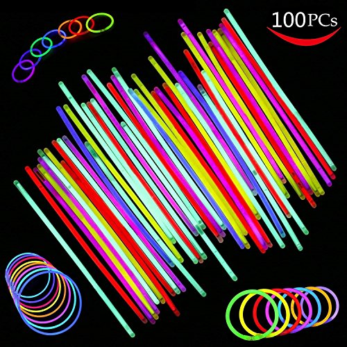 100 Pack Glowsticks, Allumez les...