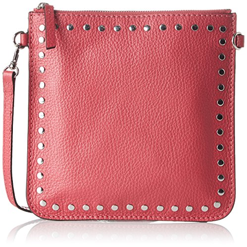 Loxwood - Pochette Floppy Cuir Cloute, Pochette Donna Rose (Orchid)
