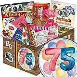 Geschenk Idee 75. für Ostalgiker | Süße DDR Geschenk Box | Geschenkset
