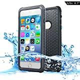 Dailylux iPhone 6 Wasserdichte Hülle,iPhone 6s Wasserdichte Hülle,Wasserdichte 360 Grad Ganzkörper Outdoor Staubdicht