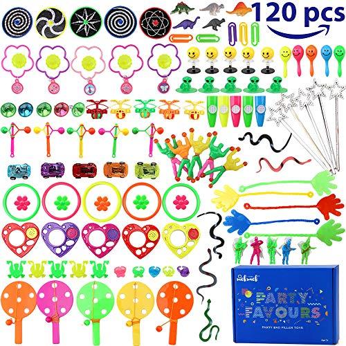 Amy&Benton Surtido de 120 juguetes para llenar piñatas y juguetes para llenar...