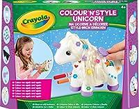 Crayola - La licorne a d�corer va devenir la meilleure amie de toutes les petites filles ! Gr�ce aux feutres, et aux accessoires (barrettes, brosse,...) tu peux personnaliser le corps de la licorne mais aussi la queue et la criniere pour la r...