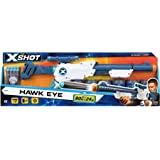 X Shot Plastic Excel Hawk Eye 5 Cans with 12 Dart (White)