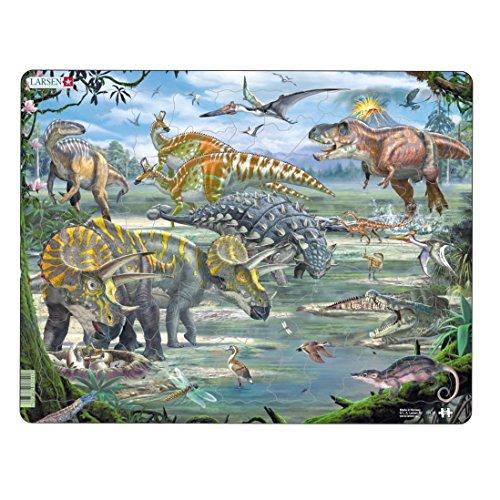 Larsen FH31Dinosaurier Puzzle - Stück Dinosaurier-puzzle 24
