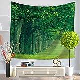 liuhoue Arazzo, fogli di crepuscolo stampati, telo mare coperta, wallcloths decorativo-L 150x200cm(59x79inch)