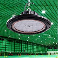 Lh&Fh Forme UFO ronde LED haute baie Belle 60/90/120 angle de haricot Light Warehouse High Power 160W , 2700k