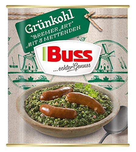 """Buss Grünkohl""""Bremer Art"""" mit 3 Mettenden, 800 g"""
