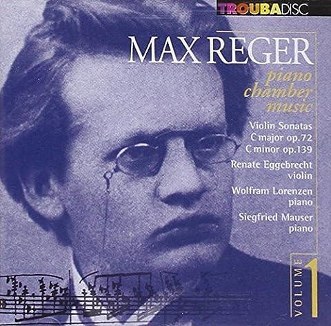 V1: Piano Chamber Music: Violin Sonatas Opp.72 by Reger (2013-08-02)