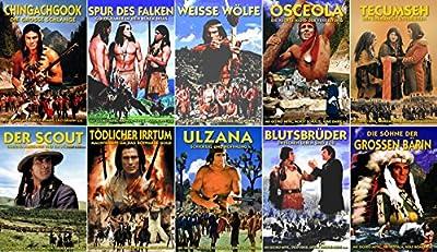GOJKO MITIC Western & Indianerfilme DEFA COLLECTION 10 DVD limited Edition * Chingachgook * Blutsbrüder * Der Scout * Die Söhne