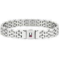 Tommy Hilfiger Jewelry Herren Glieder Charm-Armbänder Edelstahl - 2701062