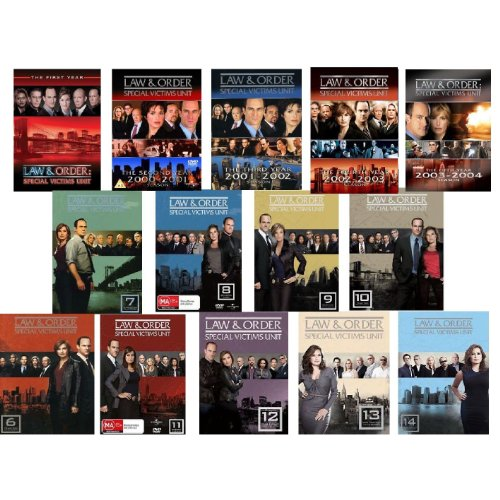 Law & Order Special Victims Unit: Seasons 1-14 on DVD