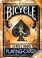 Bicicleta Vintage 1800 serie de naipes - azul Bicycle Vintage 1800 Series Playing Cards - Blue de US Playing Card