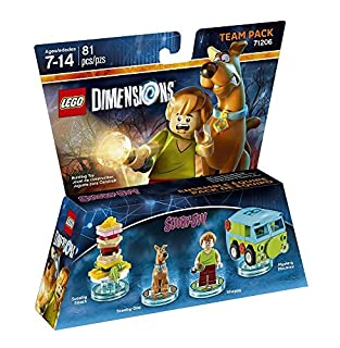Figurine 'Lego Dimensions' - Scooby & Shaggy - Scooby-Doo : Pack Equipe by Lego Dimensions Scooby Doo Team Pack (B00Z7ECFMU) | Amazon Products