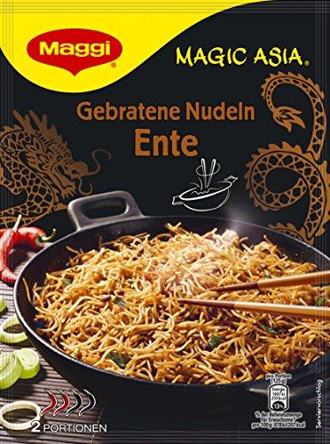 Maggi Magic Asia Gebratene Nudeln Ente, Instant-Nudeln, 1er Pack (1 x 119 g)