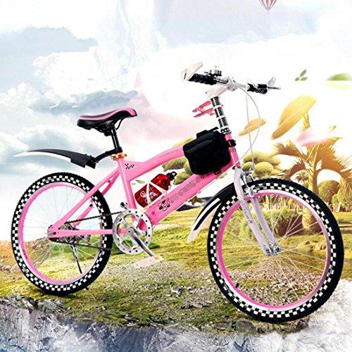 Kinder Balance Bike Kinder Lernen Training Radfahren Leicht 6-12 Jahre Kinder Jungen Mädchen Laufen Sicherheit Erste Mountain Bike , Pink
