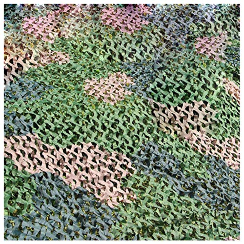 Wald Grün Schatten Tuch (WZHCAMOUFLAGENET Wald Camouflage Net Oxford Tuch Outdoor Schatten Grün Zelt Jagd Camping Camouflage Net Multi-Größe Optional (größe : 2 * 3m))