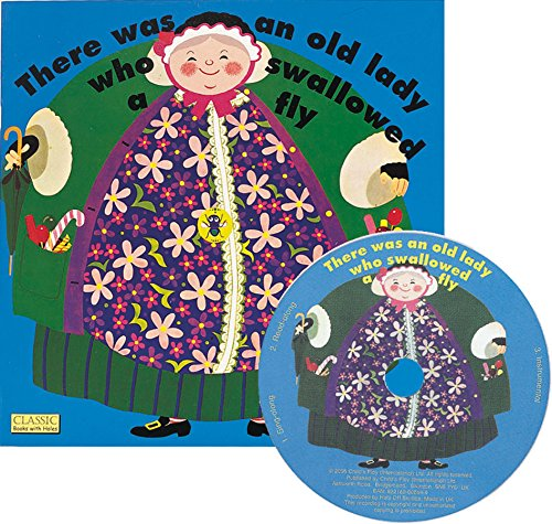 There Was an Old Lady Who Swallowed a Fly (Classic Books with Holes 8x8 with CD)