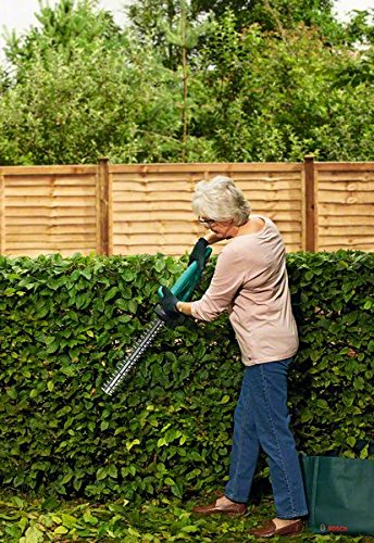 Bosch 0600849B72 EasyHedgeCut 12-35 Cordless Hedge Cutter with 12 V Lithium-Ion Battery, 350 mm Blade Length, 15 mm…