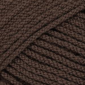 Sirdar Wash 'n' Wear Double Crepe DK 50g - Brown (370)