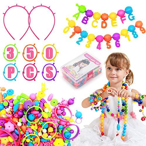 Kit de fabricación de joyas para niños - (350+ PCS) Set de...