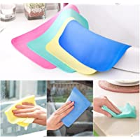 T4G Magic Drying Towel Reusable Absorbent Water for Kitchen Cleaning Car Cleaning Assorted Color (1)