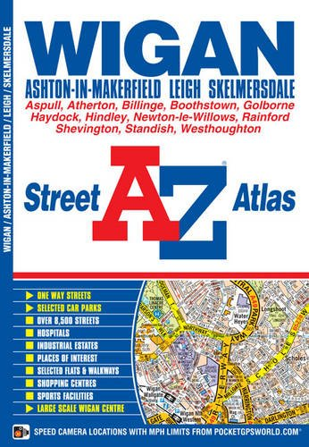 Wigan Street Atlas Cover Image