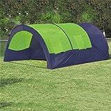 WEILANDEAL Zelt Camping 6Personen Blau und vertdimensions Gesamt: 480x 350x 195cm (L x B x H) Zelt Magische