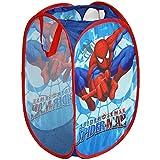 Promobo - Panier à Linge Panière Coffre à Jouet Rangement Disney Spiderman