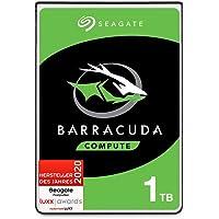 Seagate Barracuda, interne Festplatte 1 TB HDD, 2,5 Zoll, 5400 U/Min, 128 MB Cache, SATA 6 GB/s, silber, FFP, Modellnr…