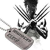 Kalttoy Wolverine metal Logan Pendant Necklace