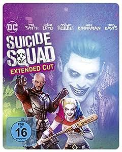 Suicide Squad als Steelbook mit Extended Cut und Illustrated Artwork (Limited Edition exklusiv bei Amazon.de) [Blu-ray]