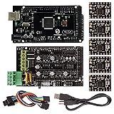 SainSmart RAMPS 1.4 Imprimante 3D Starter Kit avec Mega2560 + A4988 pour Arduino RepRap Manuel Etape Par Etape offert en PDF
