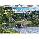 Deutschlandzauber Von der Ostsee zum Erzgebirge DIN A4 Kalender 2020 Geschenk-Set: Zusätzlich 1 Grußkarte 1 Weihnachtskarte - Seelenzauber