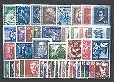 Goldhahn DDR Jahrgang 1952 postfrisch komplett Briefmarken für Sammler