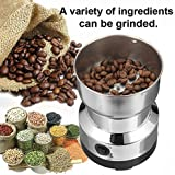 Pinkdose® Home Grinding Milling Machine Mill 220V EU Plug Electric Stainless Steel Coffee Bean Grinder Coffee Accessories Kitchenware