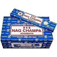 Pamai Pai® 180g NAG Champa Räucherstäbchen - Grundpreis: 6,38€/100g - BLAU AGARBATHI 12 x 15g Räucherwerk Duft preisvergleich bei billige-tabletten.eu