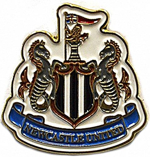 Pin / Anstecker mit Fußballmanschafts-Wappen, offizieller Fußball-Fan-Artikel, verschiedene Mannschaften verfügbar In offizieller Verpackung - Newcastle FC